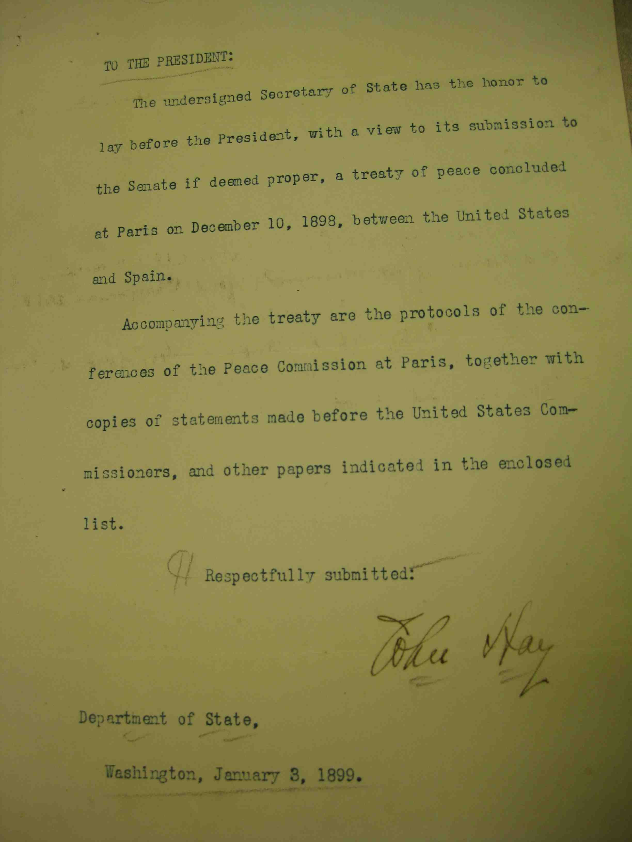 treaty of paris 1898 essay Treaty of paris 1783 wanting to be an independent nation the result and signing of the 1783 treaty of paris on september 3, was, britain gave away florida and minorca to spain and kept.