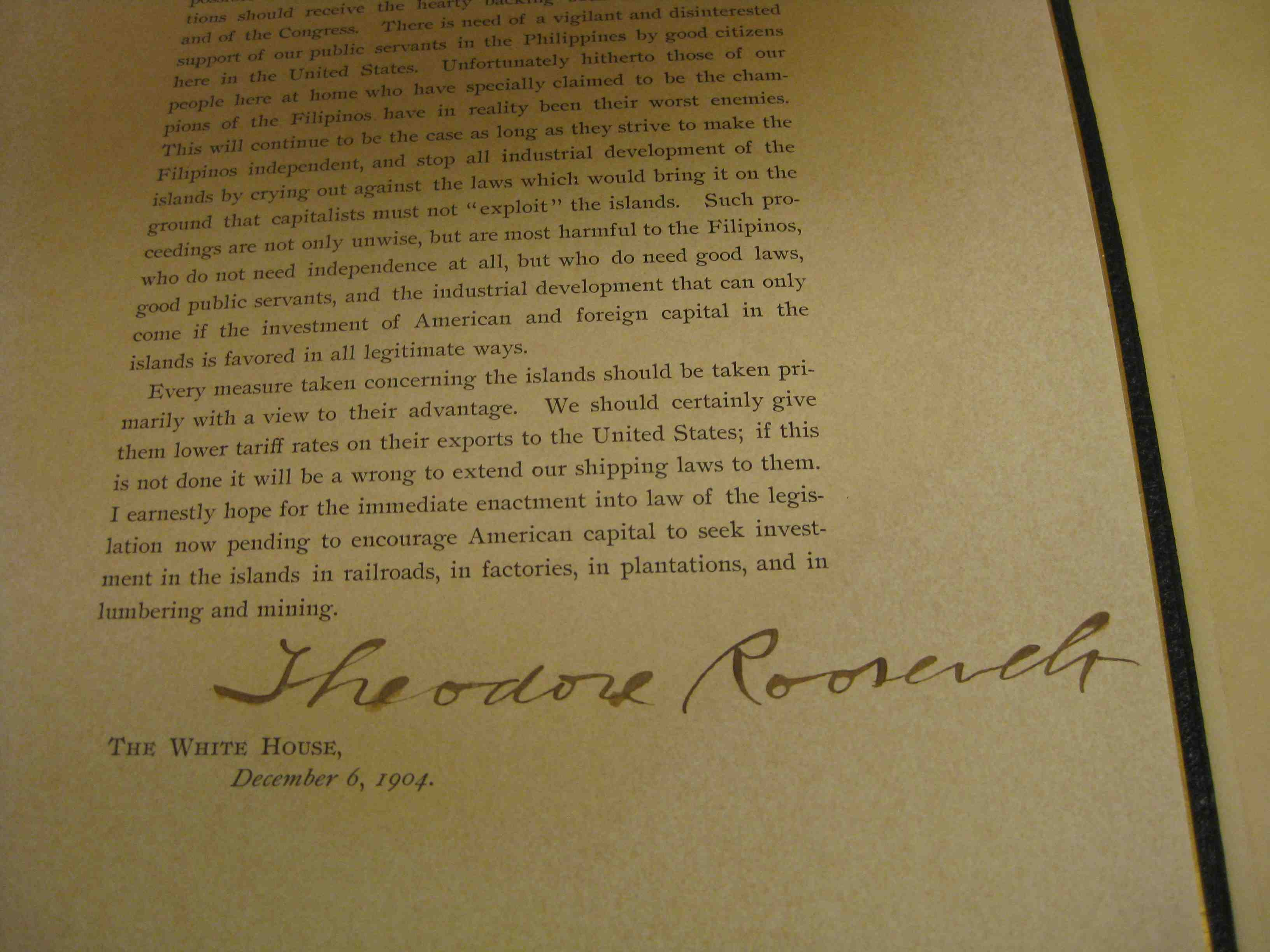 roosevelts corollary to the monroe doctrine essay The roosevelt corollary to the monroe doctrine asserted the right of the us government to intervene in the affairs of latin american countries while maintaining.