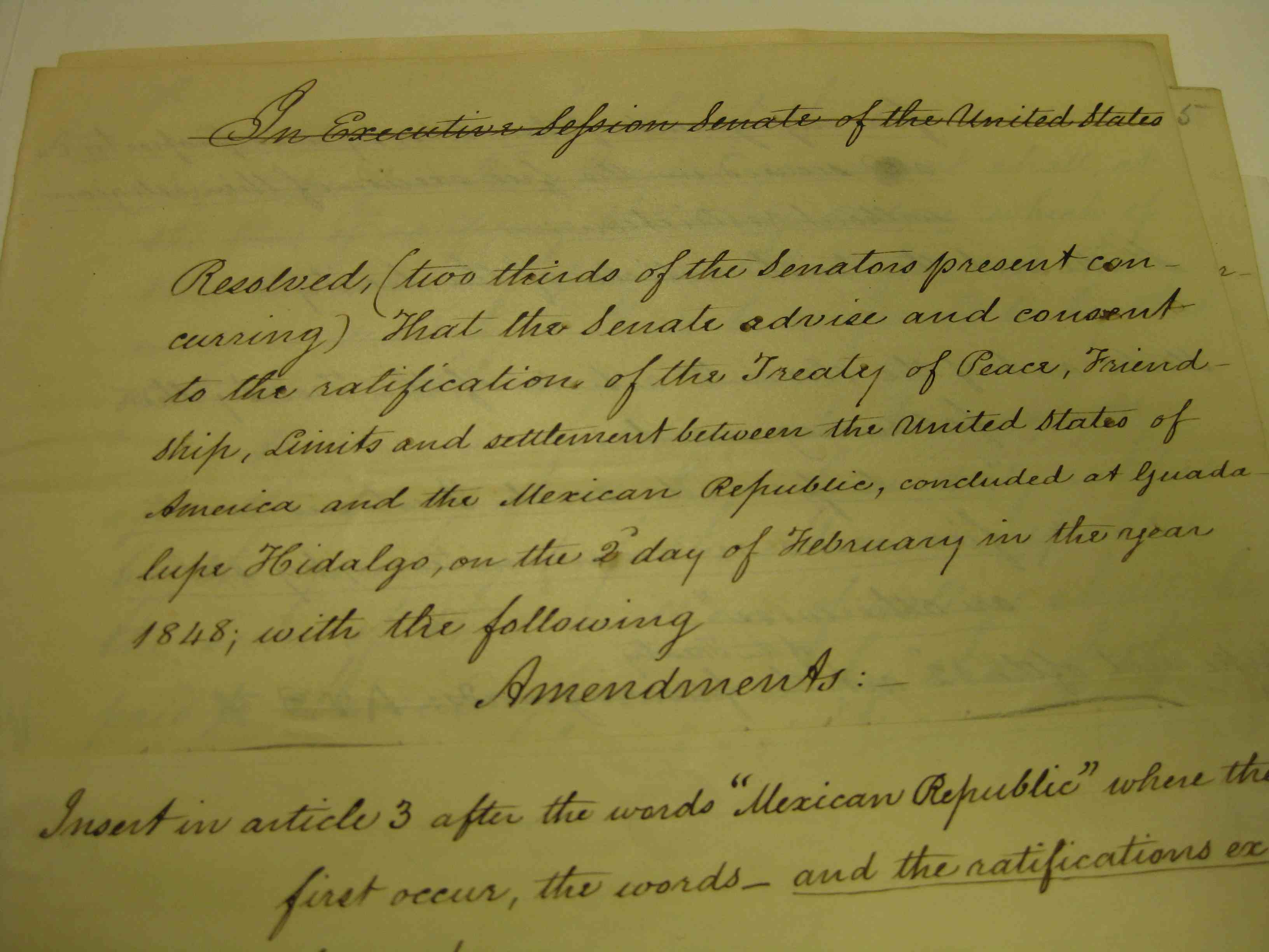the treaty of guadalupe hidalgo On february 2, 1848 the treaty of guadalupe hidalgo was signed in mexico without president james k polk's knowledge the united states acquired about 55 percent of mexico's territory for.