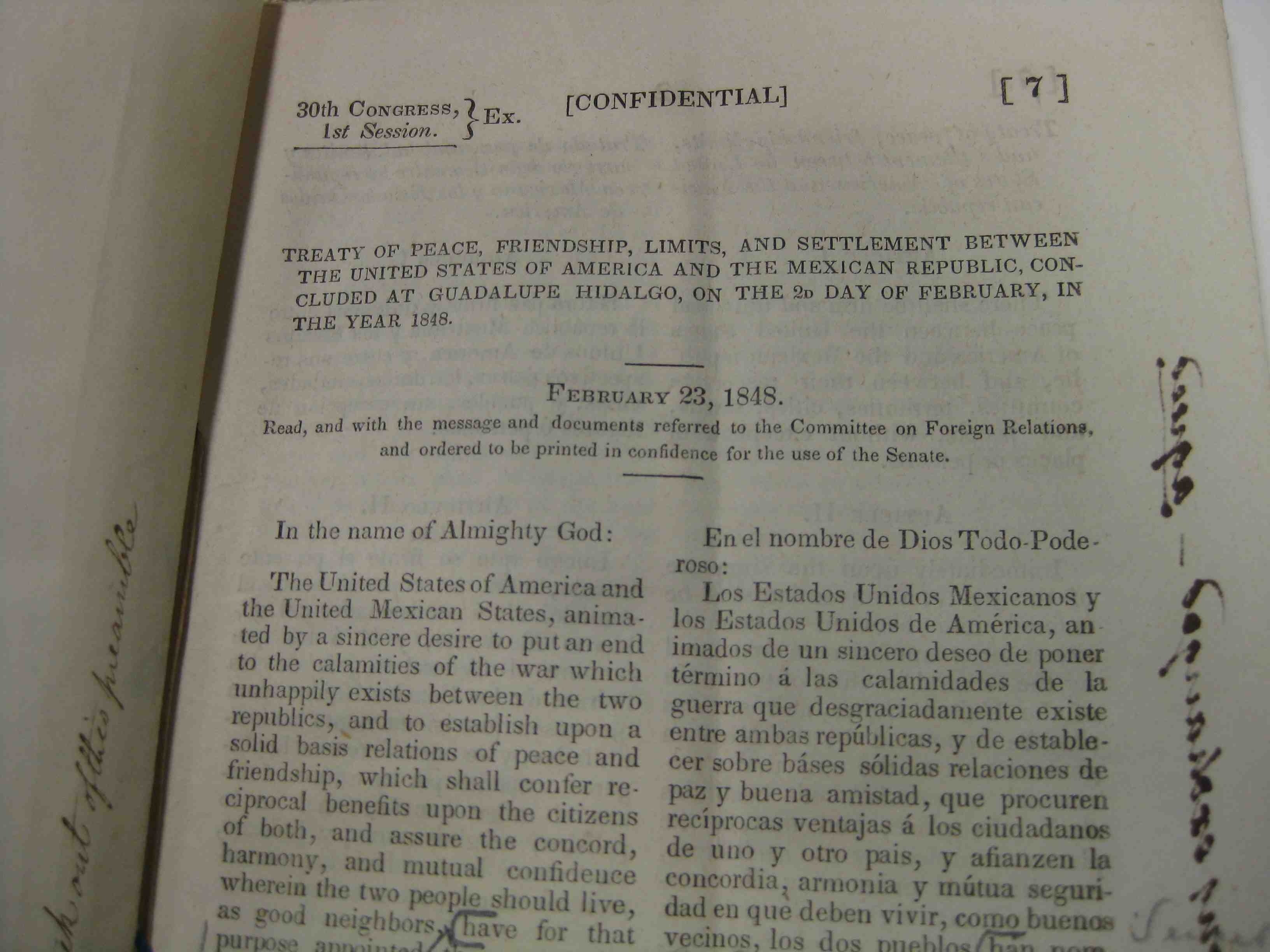 the treaty of guadalupe hidalgo essay Essay by sxynerd, high school, 11th grade, a+, november 2003  treaty of  guadalupe hidalgo, exchange copy, cover treaty ending usa-mexico war  treaty.